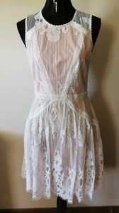 Adelyn Rae Lace Sleeveless Dress Size Small